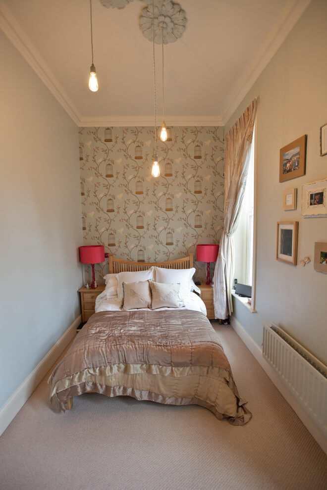 Kleine Slaapkamer Met Gloeilampen Design Verlichting