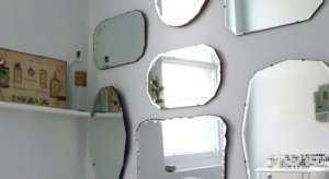 Verzameling Spiegels Ophangen
