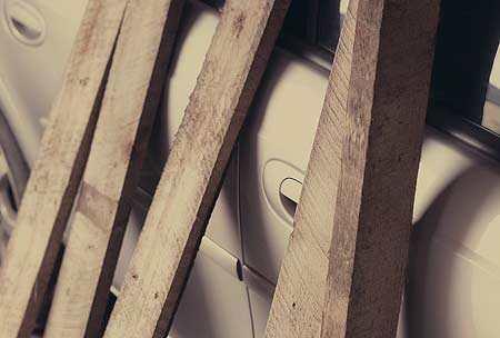 Planken Van De Pallet Halen Voor Je Tuintafel