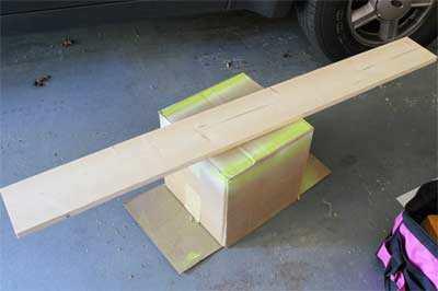 Plank Om Kapstok Van Te Maken