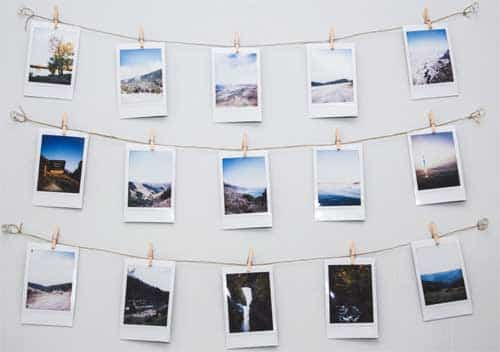 Polaroid Fotomuur