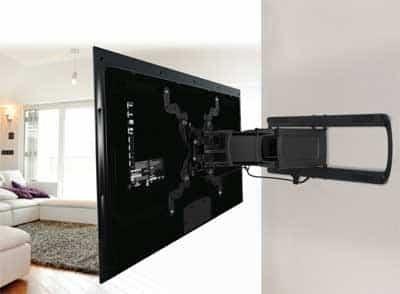 Televisie Ophangen Om Ruimte Te Besparen