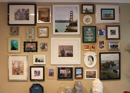 Verschillende Soorten En Formaten Fotolijsten
