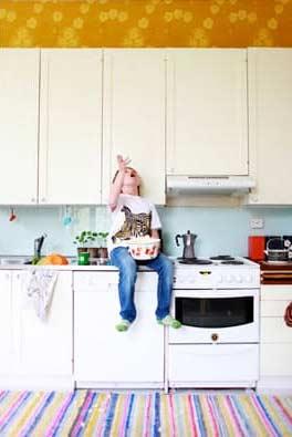 Behang Boven De Keukenkastjes