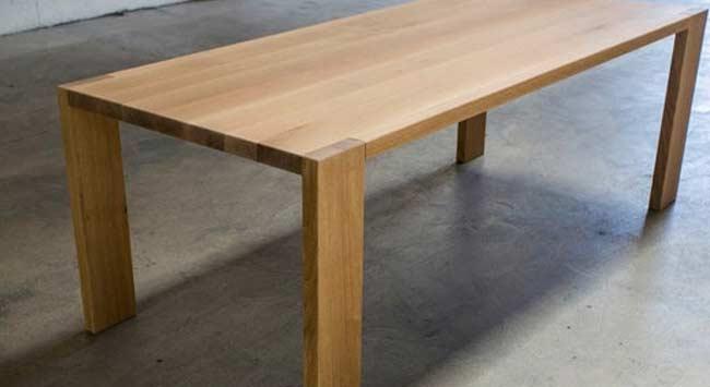 Hoe koop je de juiste eiken tafel?