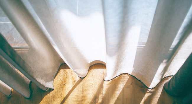Gordijnen verven complete stappenplan om vitrage te kleuren