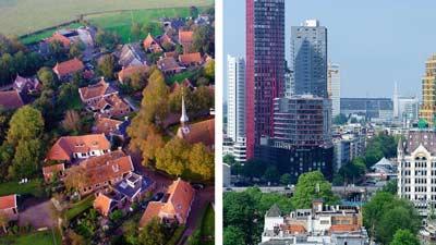 Naar een stad of dorp verhuizen?