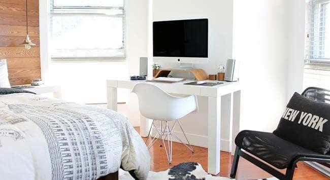 kleine slaapkamer inrichten gelukkigerwonen