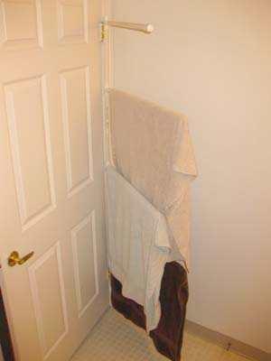 Ophangsysteem Achter Deur In Je Kleine Slaapkamer