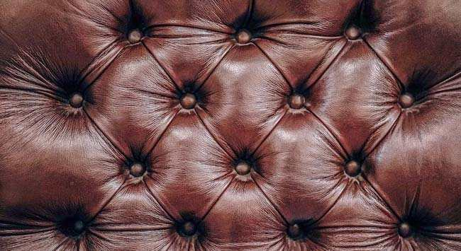 Leren Stoel Verven : Leren meubels verven [bank stoel poef] gelukkigerwonen