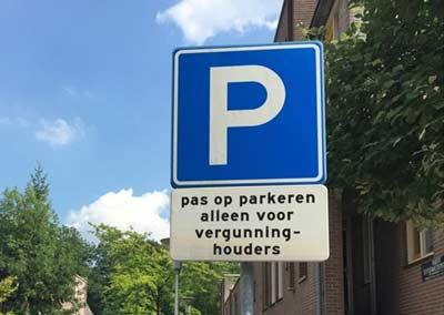 Op tijd een parkeervergunning aanvragen