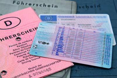 Rijbewijs in Duitsland
