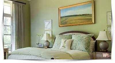 Glossy (Gele Verf) : Als je de kleine slaapkamer meer glans wilt geven ...