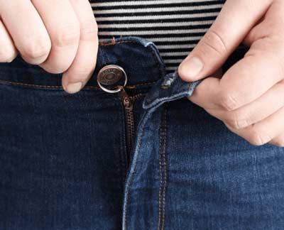 Sleutelring Aan Knoop Vastmaken Zodat Je Rits Niet Afzakt