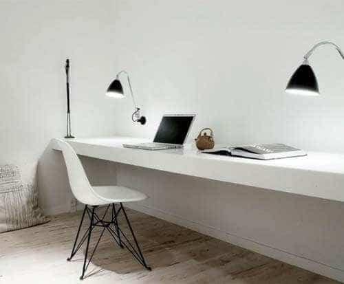 Ideeen Inrichting Studeerkamer.Thuiskantoor Inrichten Tips Voor Je Werkkamer Gelukkigerwonen